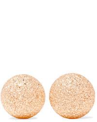 Carolina Bucci Florentine 18 Karat Rose Gold Earrings