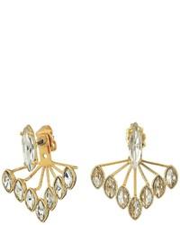 Rebecca Minkoff Front Back Sparkler Earrings Earring