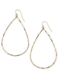 Nordstrom Frontal Hoop Earrings