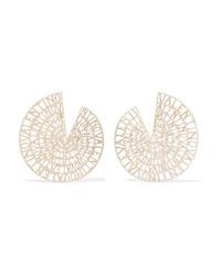 Valentino Garavani Gold Tone Earrings