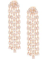 Oscar de la Renta Gemstone Detail Drop Earrings