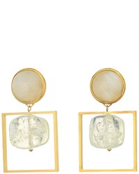 Tory Burch Geo Statet Earrings Earring