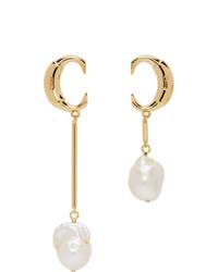 Chloé Gold Darcey Baroque Earrings