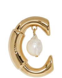 Chloé Gold Darcey Pearl Earring
