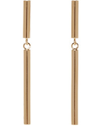 Isabel Marant Gold Double Biennale Earrings