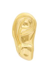 Gucci Gold Ear Shape Single Earring