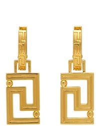 Versace Gold Empire Earrings