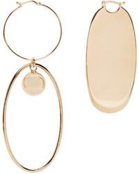 Stella McCartney Gold Geometric Earrings