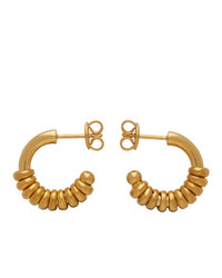 Bottega Veneta Gold Hoop Earrings