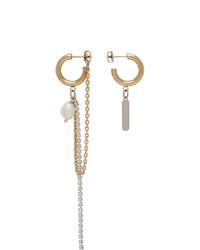 Justine Clenquet Gold Jamie Earrings