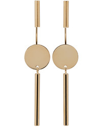Isabel Marant Gold Josef Maria Earrings