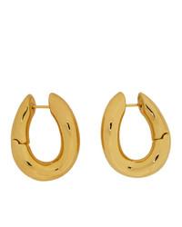 Balenciaga Gold Loop Earrings