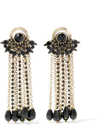 Etro Gold Plated Crystal Earrings