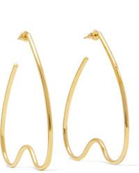Simone Rocha Gold Plated Earrings