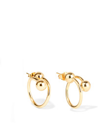J.W.Anderson Gold Plated Earrings One Size