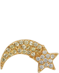 Marc Jacobs Gold Shooting Star Something Special Earring