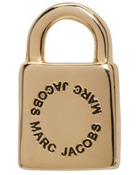 Marc Jacobs Gold Single Lock Earring