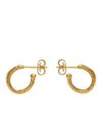 Alighieri Gold The Morning Hour Earrings