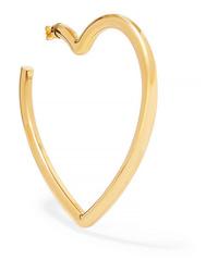 Balenciaga Gold Tone Earring