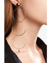 Stella McCartney Gold Tone Earrings