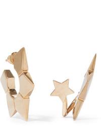 Chloé Gold Tone Earrings