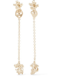 Valentino Gold Tone Earrings