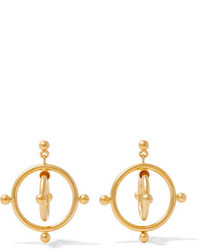 Marni Gold Tone Earrings