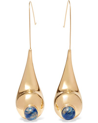 Chloé Gold Tone Earrings