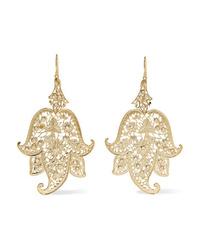 Etro Gold Tone Earrings