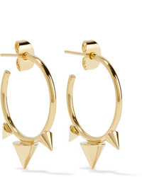 Isabel Marant Gold Tone Hoop Earrings