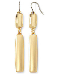 Liz Claiborne Gold Tone Linear Earrings