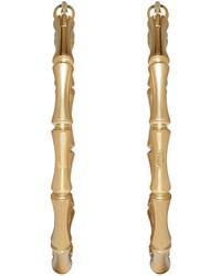 Gucci Gold Bamboo Hoop Earrings