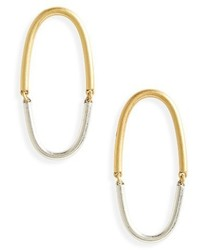 Madewell Hinged Hoop Earrings