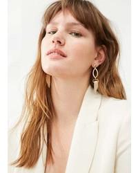 Violeta BY MANGO Horn Earrings
