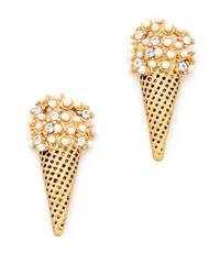 Marc Jacobs Ice Cream Stud Earrings