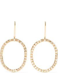 Ileana Makri Mini Again 18 Karat Gold Diamond Earrings One Size