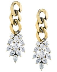Iosselliani White Eclipse Meto Earrings