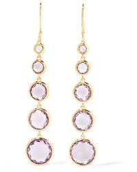 Ippolita Rock Candy Lollitini 18 Karat Gold Amethyst Earrings One Size