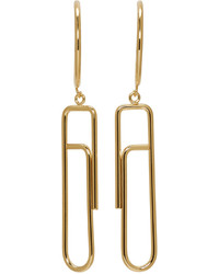 Isabel Marant Gold Glum Earrings