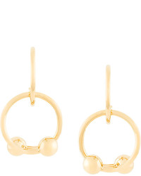 J.W.Anderson Jw Anderson Looped Double Ball Earrings