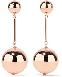 J.W.Anderson Jw Anderson Rose Gold Tone Earrings