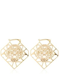 Kenzo Tiger Logo Earrings