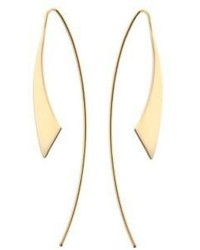 Lana Jewelry Small Gloss Hooked On Hoops Threader Earrings