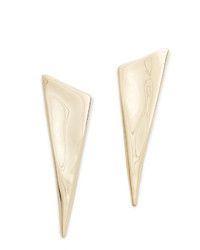 Alexis Bittar Liquid Angled Pyramid Earrings