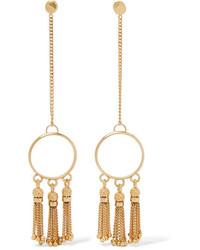 Chloé Lynn Gold Tone Earrings