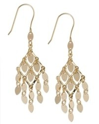 Macy's 10k Gold Earrings Chandelier Earrings