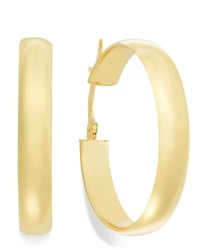 Macy's 14k Gold Earrings Hoop Earrings