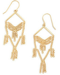 Madewell Linkfringe Chandelier Earrings