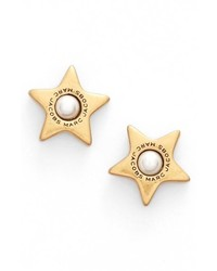 Marc Jacobs Imitation Pearl Stud Earrings