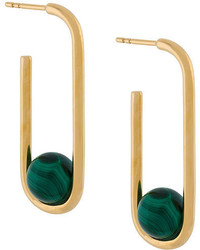 Astley Clarke Marcel Oval Hoop Earrings